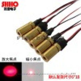 650nm10mw小型尺寸红光点状激光模组镭射器件