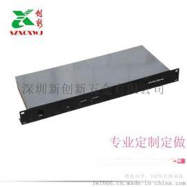 激光切割 厂家直销 1u-14u机箱 ntp服务机箱