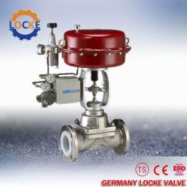 进口气动薄膜隔膜调节阀品牌德国洛克