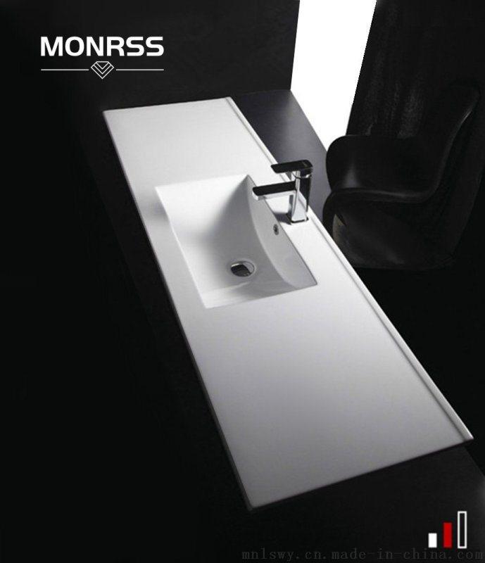 陶瓷薄边洗手盆蒙诺雷斯60-120薄边盆台盆艺术盆