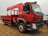 乘龙牌柳汽3.5吨型随车起重运输车