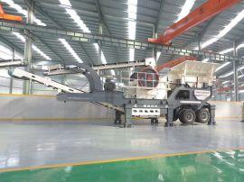 湖南移动碎石机-移动式破碎机厂家直销