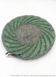 5寸9寸11寸 众兴 螺旋花纹型 纤维兽毛抛光垫