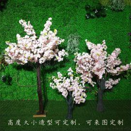 仿真樱花树 婚庆路摆仿真花树 大型假樱花树