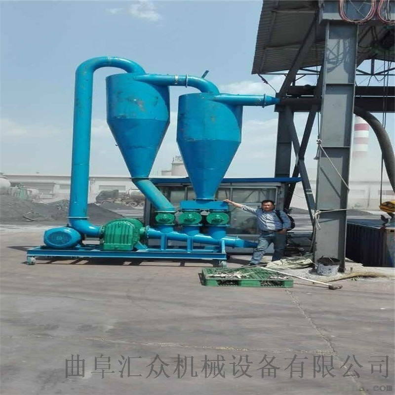 粉煤灰输送机 环保水泥粉输送机