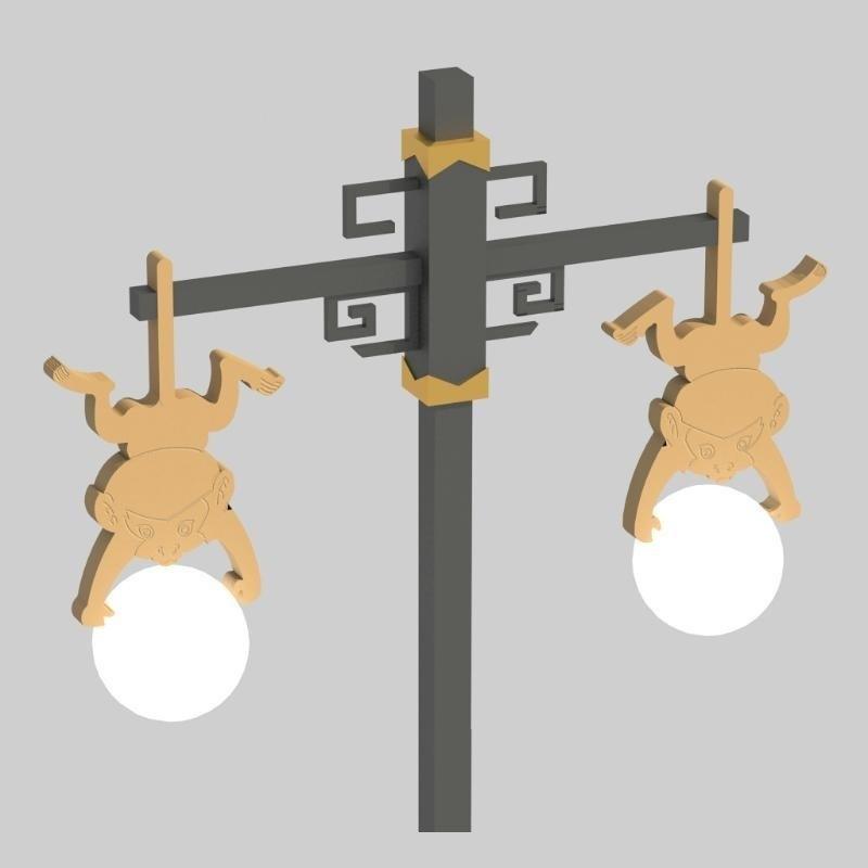 園林景觀燈,成都園林景觀燈,中晨園林景觀燈