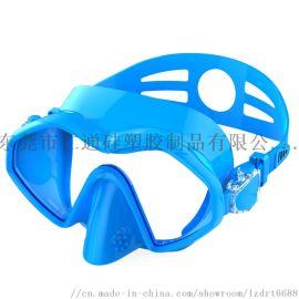 厂家直销 新款潜水镜 亚马逊爆款 硅胶一体潜水镜