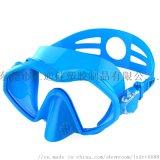 廠家直銷 新款潛水鏡 亞馬遜爆款 硅膠一體潛水鏡