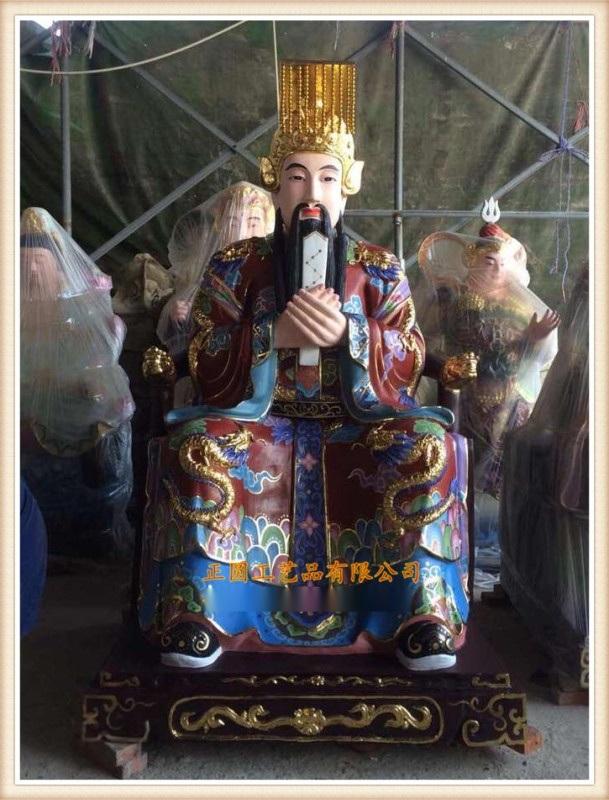 金乡道教神像雕塑,树脂神像厂家,城隍爷佛像厂家