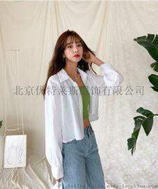 莫兹广州女装品牌尾货毛衣尾货 品牌库存服装批发折扣女装
