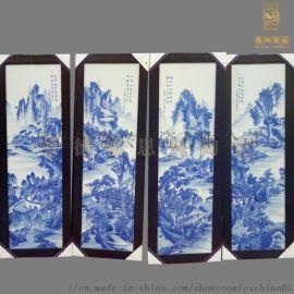 现代风格瓷板画 居家装饰品瓷板画 手工制作瓷板画