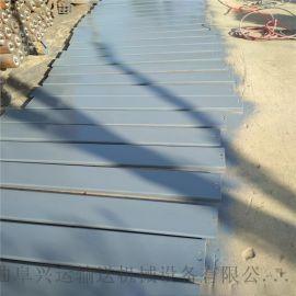 板链输送机厂家加厚 加宽链板输送机安装专业厂家安徽