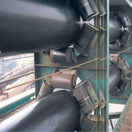 管式带状输送机不锈钢输送机 加工定制
