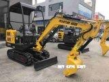 浩鴻微型1.8噸小挖機園林綠化挖土機廠家直銷