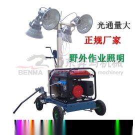 移動燈塔 月球照明車 球形工程照明車