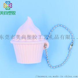 PVC3D公仔 雪糕甜筒3D立体公仔钥匙扣