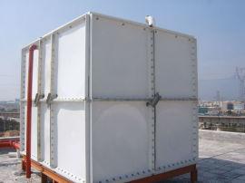 组合水箱 钢板水箱不渗漏成品玻璃钢消防水箱
