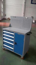 移动汽车维修车间工位车柜 五抽工具柜 多功能工具车