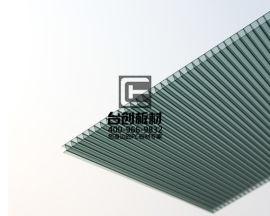 南充市:順慶區6mm草綠陽光板 6mm拜貝耳陽光板