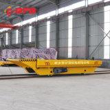 編程操作60噸無軌平車 鋼廠軌道式   基礎施工