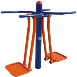 广西名扬健身器材双人浪板南宁市民广场安装