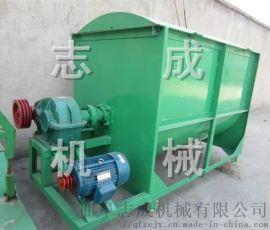 志成直销畜牧养殖场饲料加工机械两吨卧式饲料搅拌机
