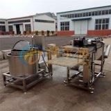 豫 D-4豆腐魚裹漿機 魚塊裹漿設備 龍頭魚掛糊機
