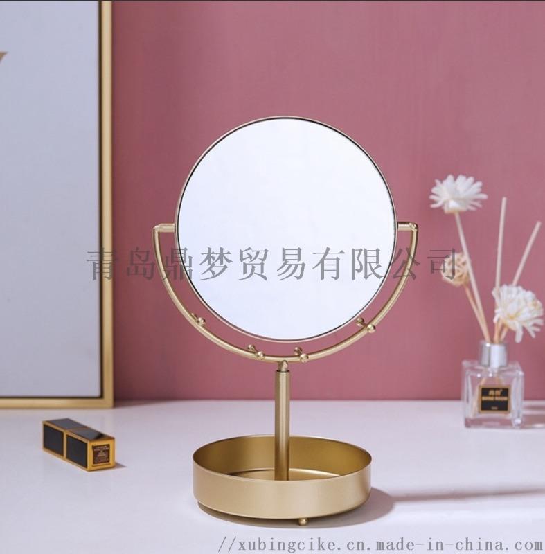 简约铁艺化妆镜 卧室女性