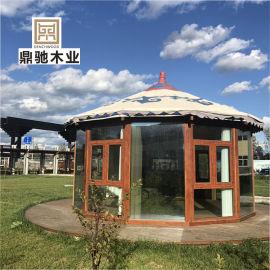 庭院圓形羅馬帳篷蒙古包露天亭子樑柱式陽光房