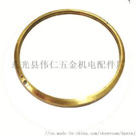 电机甩油环 YRKK900发电机锡青铜油环