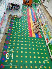 悬浮式运动拼装地板云南防滑式拼装地板厂家