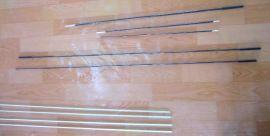 马鞭纤维杆和碳素杆