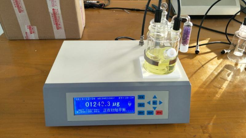 制药原料水分仪WS-8A   库伦电量法微水测试仪