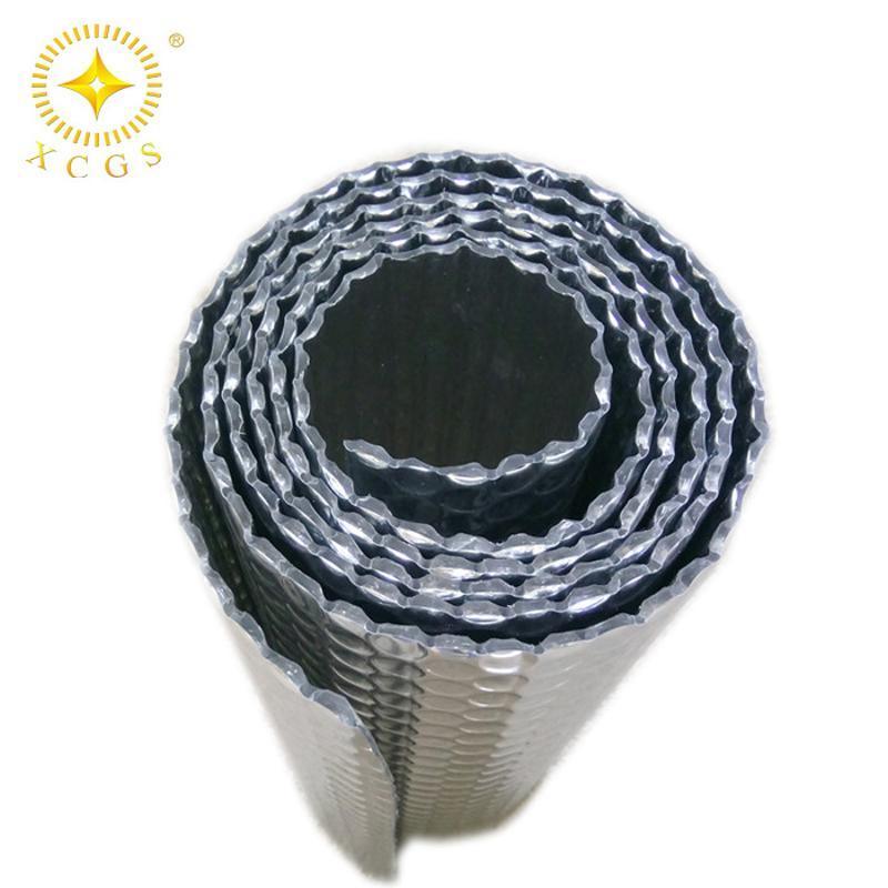 現貨屋頂保溫防曬隔熱膜 防震雙面鋁箔鋁膜氣泡膜