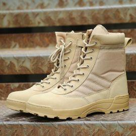 厂家直销 迷户外登山鞋作训鞋战术高帮 鞋男女沙漠靴一件代发