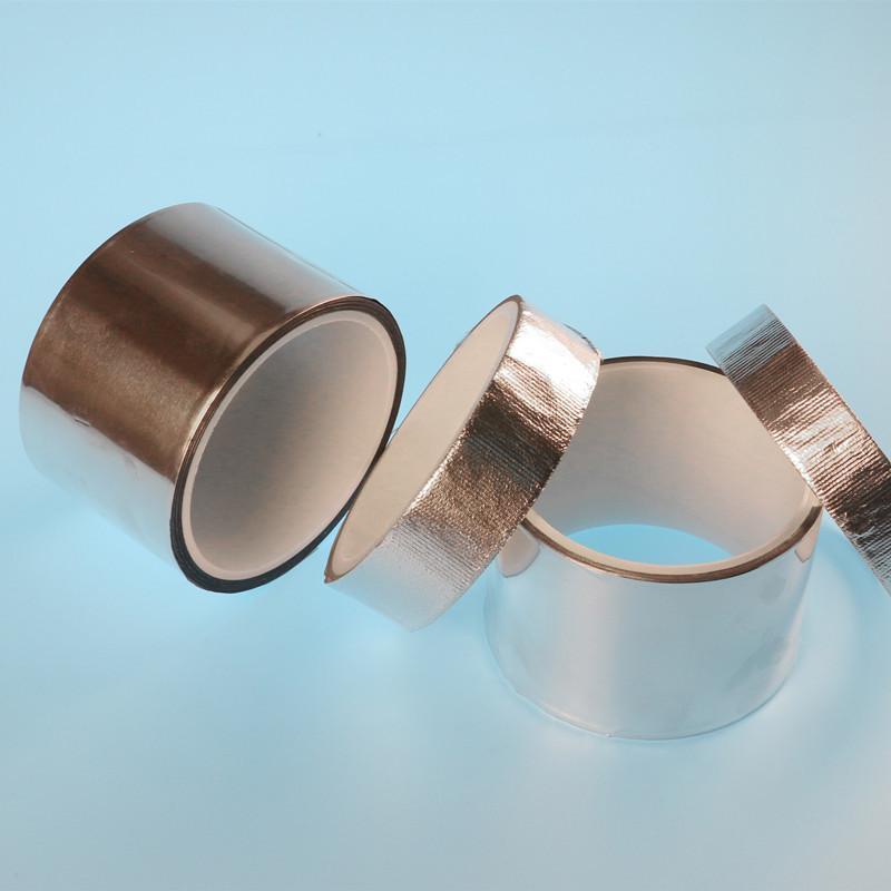 易撕铝箔玻纤布胶带耐300度高温胶带