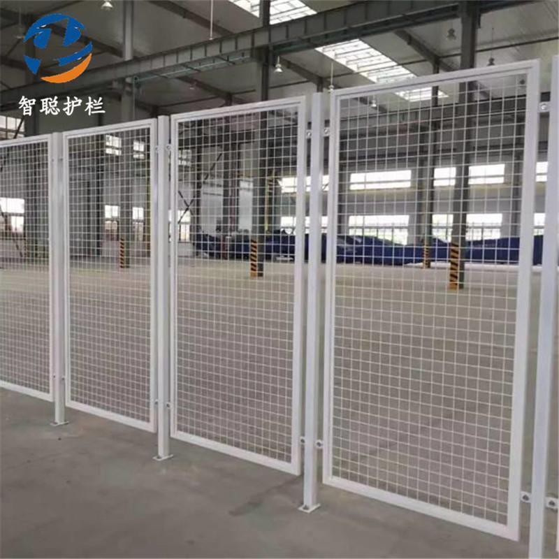 防锈车间隔离网&自动化工厂机器人设备安全网&车间设备防护网