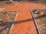 內蒙古藝術彩坪-包頭壓花地坪-彩色混凝土壓模道路-地坪材料廠家