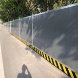 天津施工彩鋼圍擋 建築工地單板圍擋 道路板式圍牆廠家優惠直銷