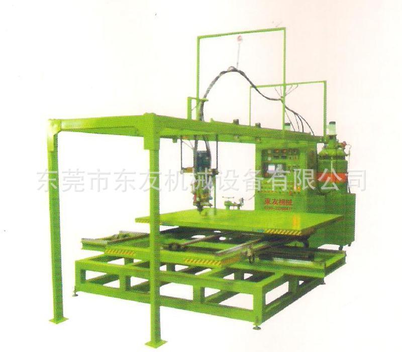 高質量pu仿木發泡機 高壓空氣型pu線條發泡機
