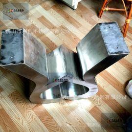 定制不鏽鋼茶幾美式小戶型家具創意茶幾電視櫃批發茶幾不鏽鋼家具