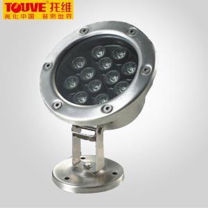 Touve托維LED水底燈 12W水底燈 LED綠色光源