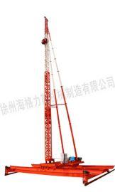 20米钢轨式插板机,30米钢轨排水板插板机,15米塑料排水板插板机