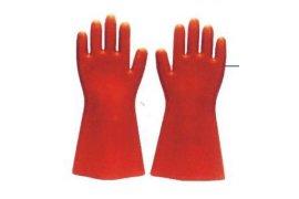 绝缘电工橡胶手套 12KV高压工作手套 乳胶手套劳保手套