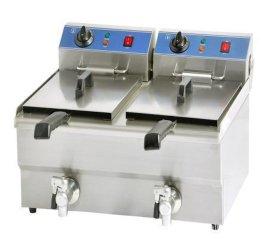 小型油水混合油炸锅|油炸机| 油水分离油炸机电炸锅