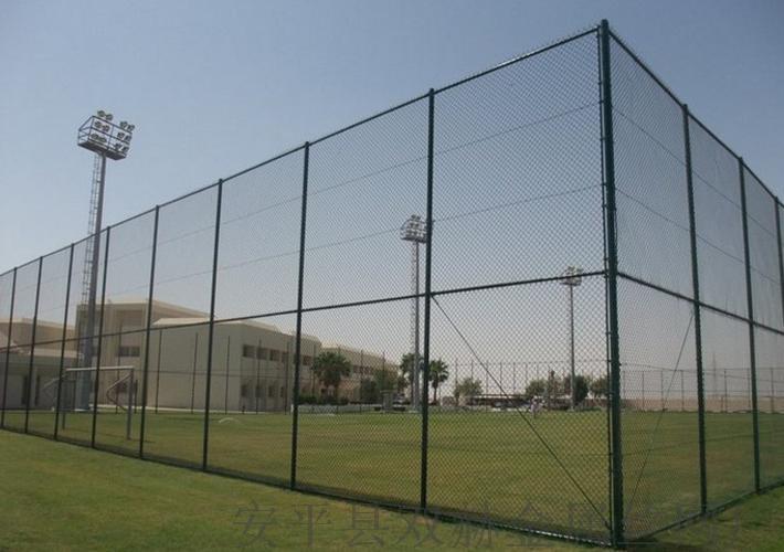 專業供應體育場圍欄圍網¥鍍鋅鐵絲勾花網圍欄廠家