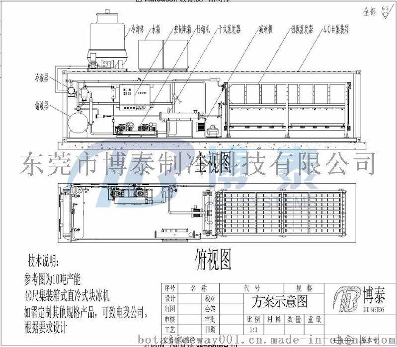 供应博泰直冷块冰,广东直冷式块冰机厂家,冰砖机那家做得最好