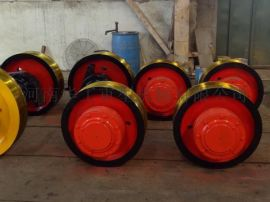 φ500x130车轮组 整体淬火车轮 55#整体调质轮