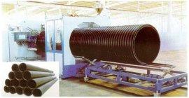 PE大口径缠绕管生产设备 塑料双壁波纹管生产线