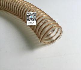 印刷机真空管,印刷机风管,PU透明钢丝软管